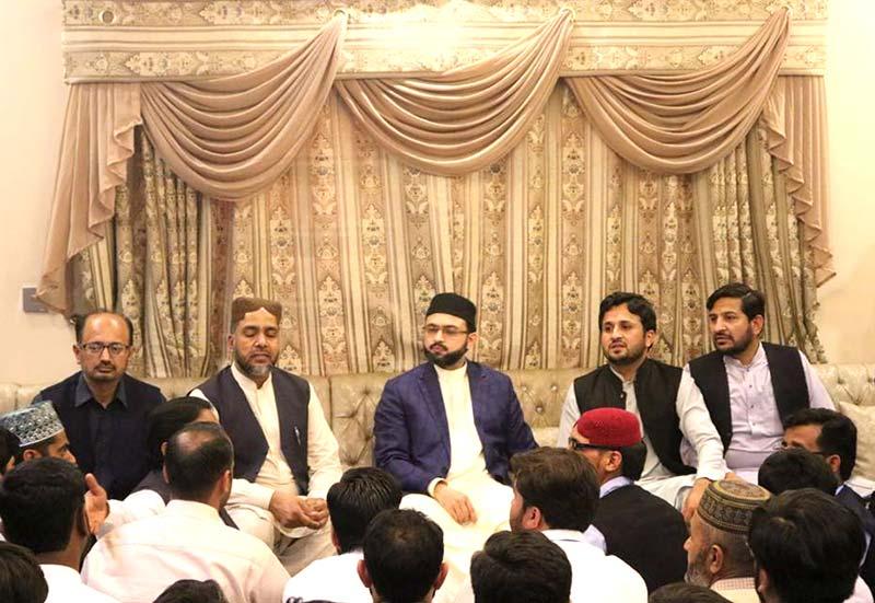 ایم ایس ایم اسلام آباد کے عہدیداروں کی ڈاکٹر حسن محی الدین قادری سے ملاقات