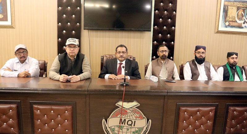 ملتان کی صحافتی و مذہبی اور سماجی تنظیموں کے 60 رکنی وفد کا منہاج القرآن سیکرٹریٹ کا دورہ