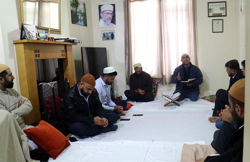 منہاج القرآن آئرلینڈ کے زیراہتمام ماہانہ درود و سلام اور استقبال رمضان کی محفل کا انعقاد
