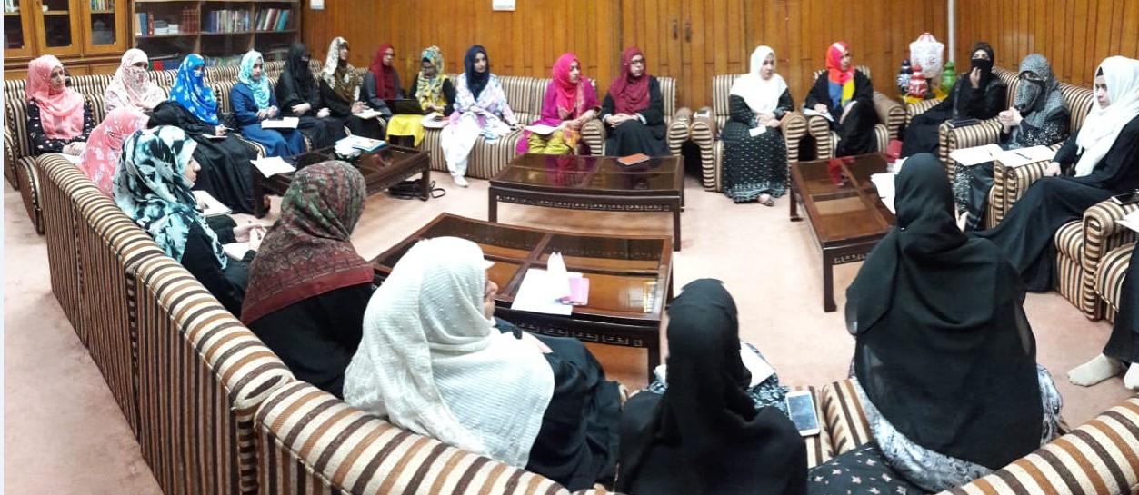 سیدہ طاہرہ اعلیٰ پائے کی منتظم، معاملہ فہم اور کامیاب تاجر تھیں: منہاج القرآن ویمن لیگ