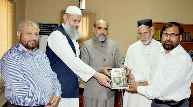چیئرمین اسلامی نظریاتی کونسل سے سہیل احمد رضا کی ملاقات