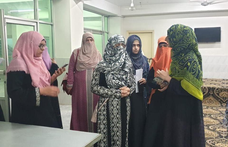 ڈاکٹر فضہ حسین قادری کا خواتین کے شہراعتکاف میں انتظامات کا جائزہ، تیاریاں مکمل