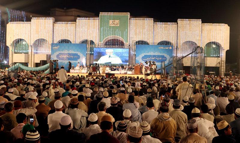 منہاج القرآن کے شہر اعتکاف میں 10 ہزار سے زائد افراد معتکف ہو گئے