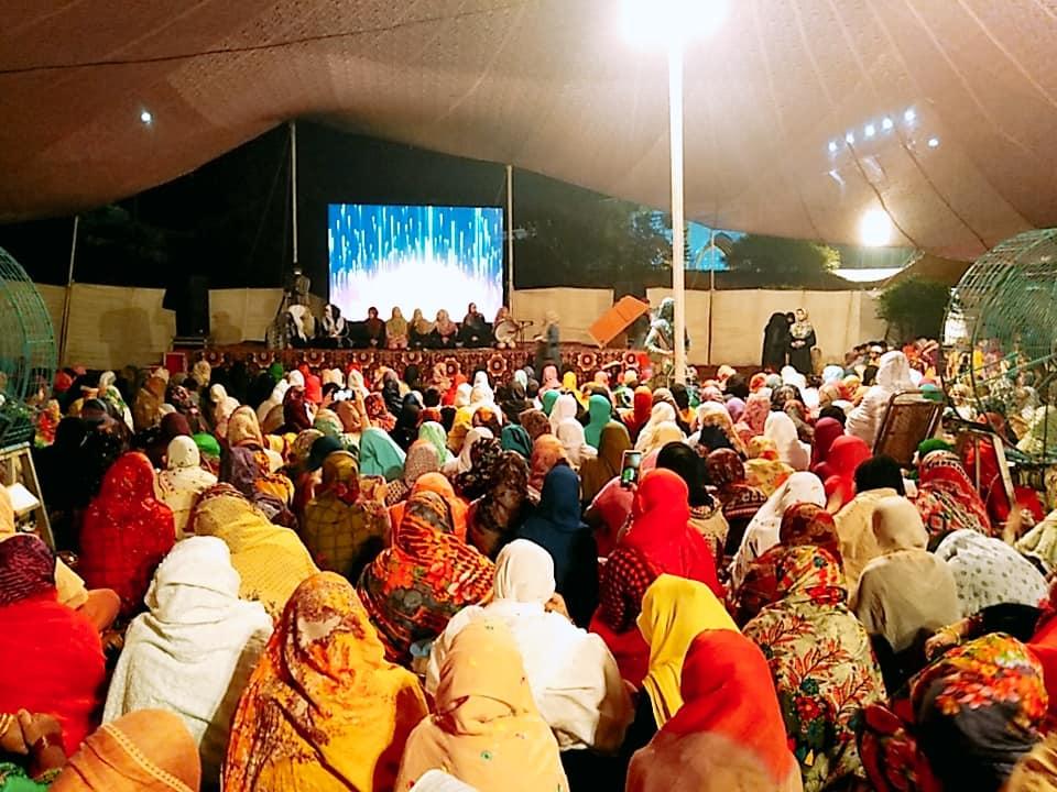 منہاج القرآن ویمن لیگ کے زیراہتمام خواتین شہراعتکاف آباد، ہزاروں معتکفات شریک