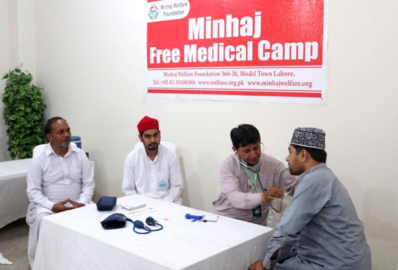 Itikaf City 2019: Medical camps providing free services