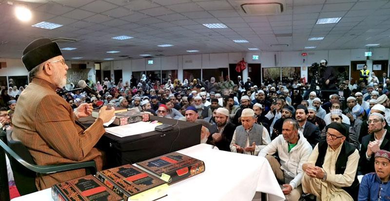 Hard work is a must to win the pleasure of Allah: Dr Tahir-ul-Qadri