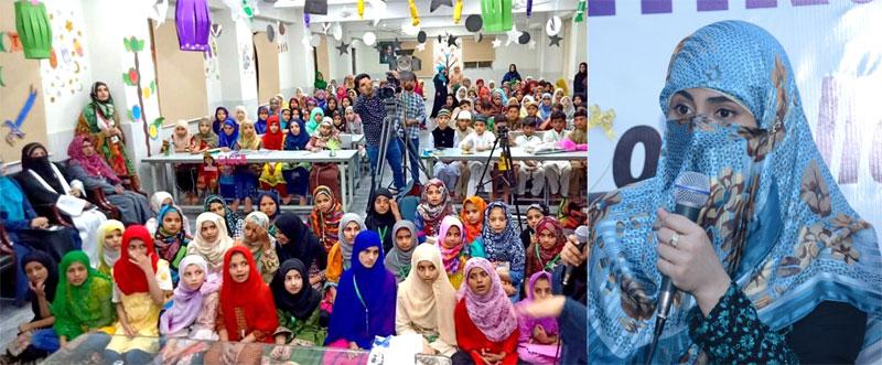 منہاج القرآن ویمن لیگ کی مرکزی رہنماؤں کا بچوں کے ہمراہ افطار ڈنر