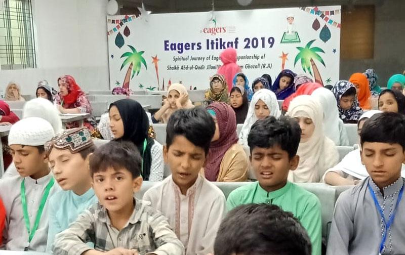 Eagers Kids Itikaf 2019