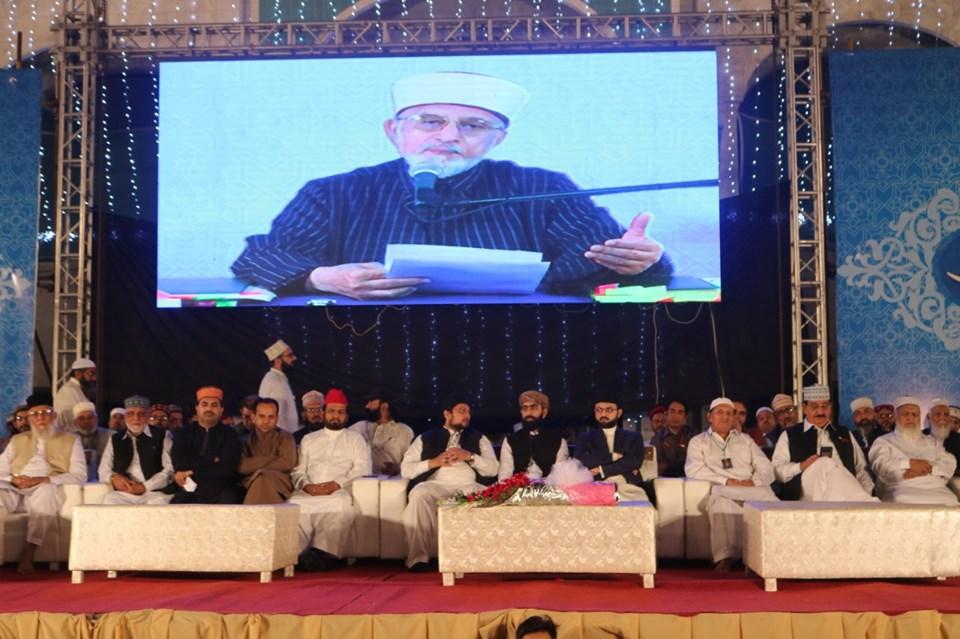 توبہ کا آغاز استغفار کے بعد ہوتا ہے: شیخ الاسلام ڈاکٹر محمد طاہرالقادری کا شہراعتکاف کی آٹھویں نشست میں درس تصوف