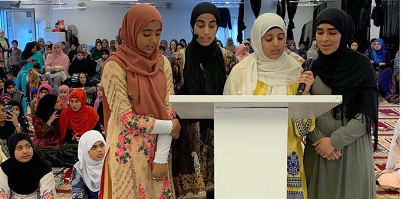 ڈنمارک: بچوں میں روزہ کشائی کی تیسری سالانہ تقریب اور محفل قرآت