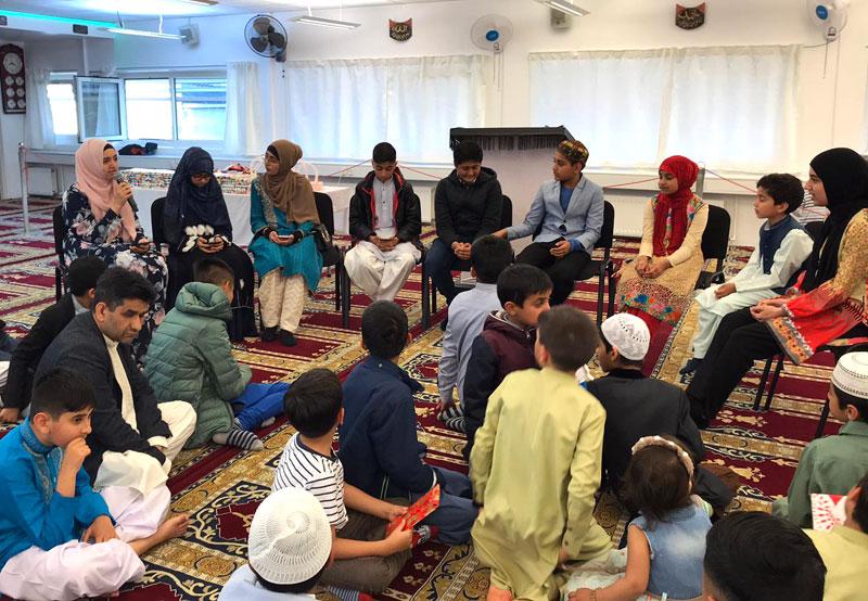 منہاج سکول آف اسلامک سائنسز ڈنمارک کے زیراہتمام سالانہ محفل قرات و روزہ کشائی