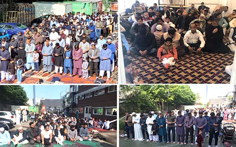 منہاج القرآن ڈنمارک کے زیراہتمام عیدالفطر کے چھ اجتماعات کا انعقاد