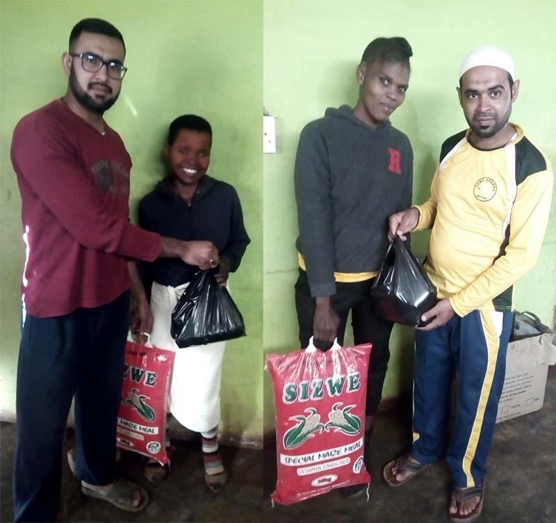 منہاج ویلفیئر فاونڈیشن Kzn ساؤتھ افریقہ کے زیراہتمام رمضان فوڈ کی تقسیم