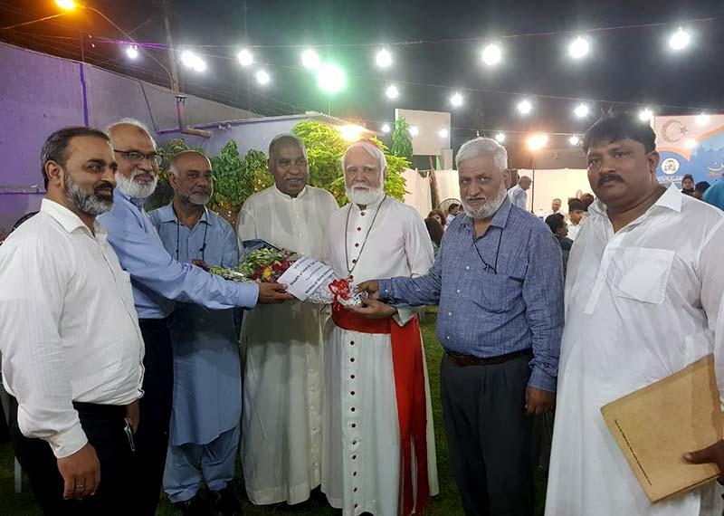 منہاج القرآن کراچی کے وفد کی بین المذاہب عید ملن پارٹی میں شرکت