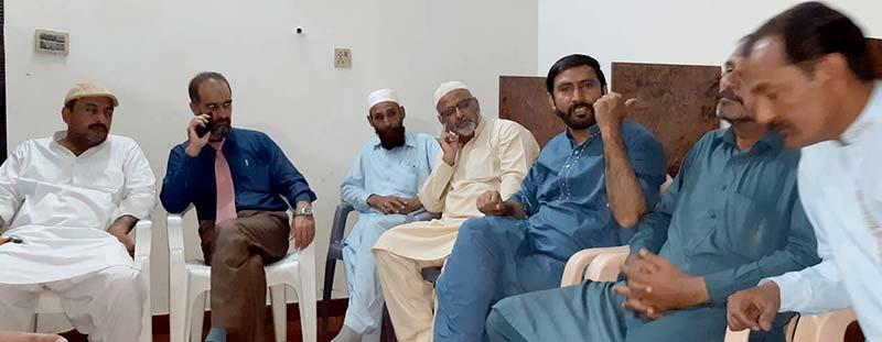 شہدائے ماڈل ٹاون کے ورثاء کو انصاف کی فراہمی حکومت اور عدلیہ کی اولین  ذمہ داری ہے: عوامی تحریک اسلام آباد کا اجلاس