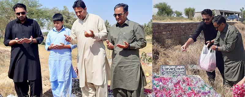اسلام آبادد: عوامی تحریک و منہاج القرآن کے قائدین کی شہداءے انقلاب کی قبروں پر حاضری