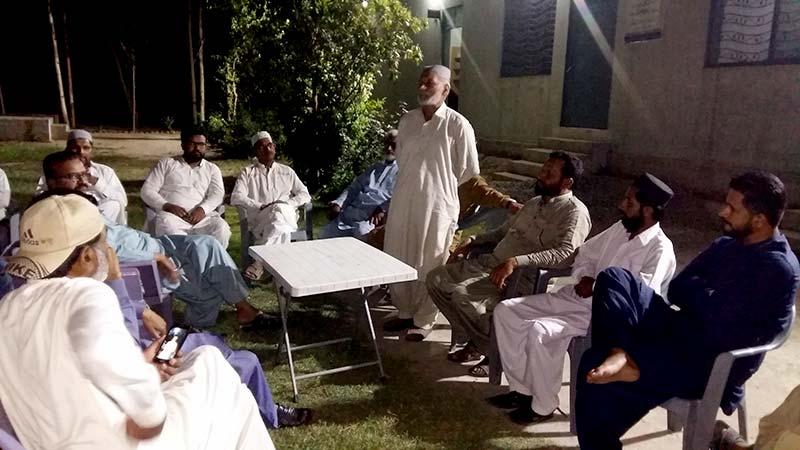 تحریک منہاج القرآن حافظ آباد کے زیراہتمام شہدائے ماڈل ٹاؤن کی برسی پر تقریب