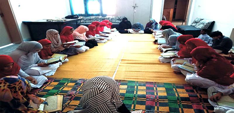 منہاج القرآن ویمن لیگ ملتان کے زیراہتمام شہدائے ماڈل ٹاون کے لیے قرآن خوانی