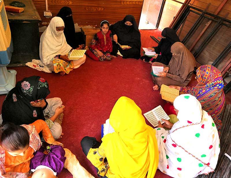 منہاج ویمن لیگ لودھراں کے زیراہتمام شہدائے ماڈل ٹاون کے لیے قرآن خوانی