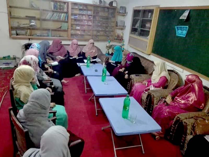 منہاج ویمن لیگ جہلم کی تنظیمی و تربیتی ورکشاپ