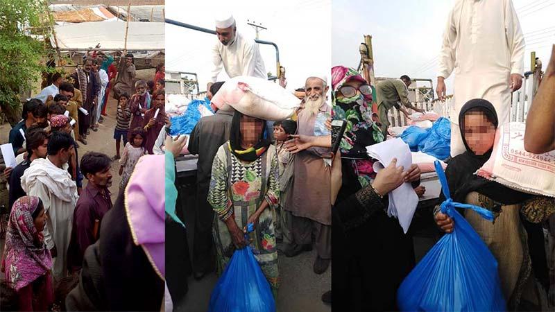 Woice جہلم کے زیراہتمام 40 خاندانوں  میں رمضان پیکج کی تقسیم