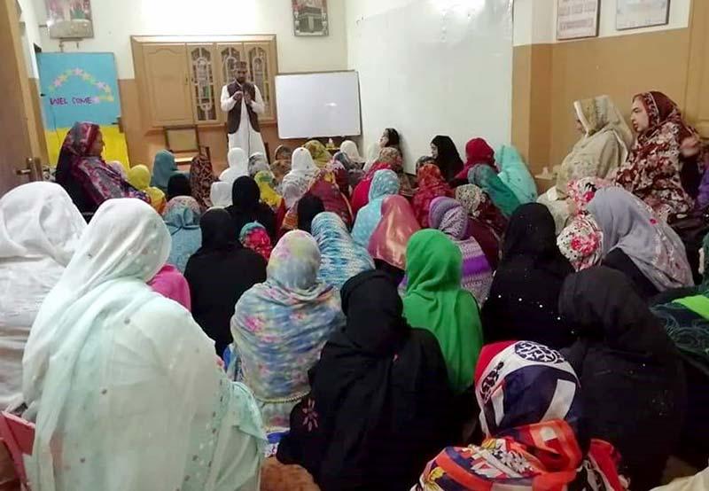 جہلم: 40 روزہ عرفان القرآن کورسز کی افتتاحی تقریبات