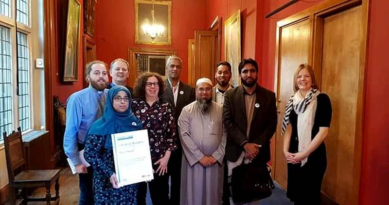 Church Mosque twinning program awards MQI Walsall and Methodist Church