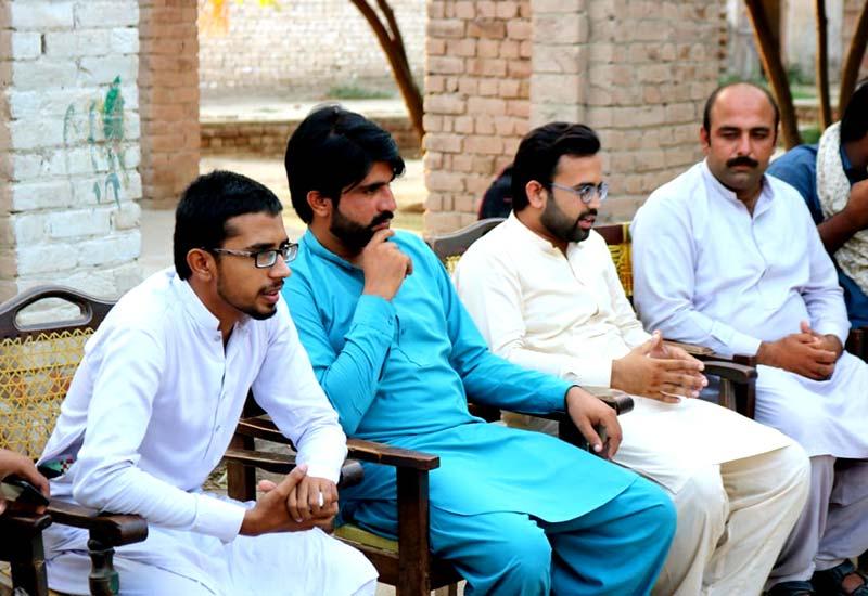 مصطفوی سٹوڈنٹس موومنٹ تحصیل احمد پور سیال کا تنظیمی اجلاس