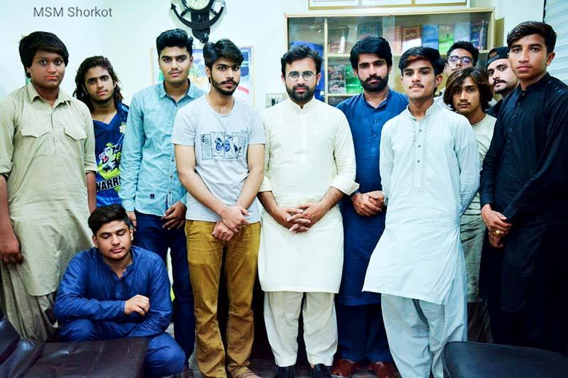 مصطفوی سٹوڈنٹس موومنٹ شور کوٹ کا تنظیمی اجلاس