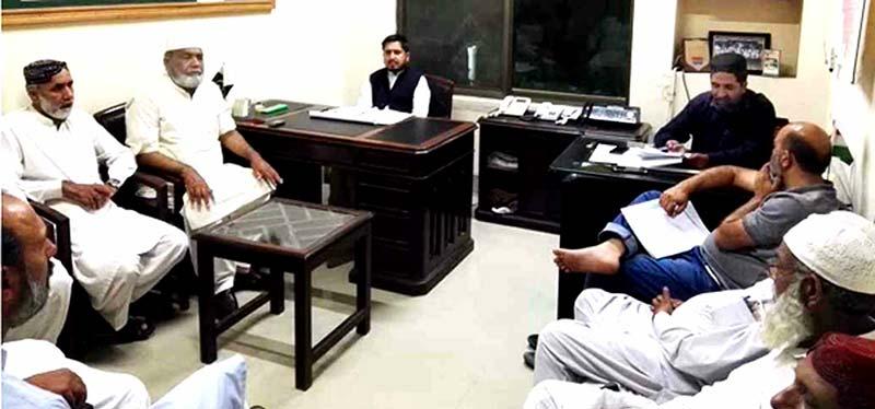 منہاج القرآن لاہور کی ایگزیکٹو کونسل کا اجلاس، ضلعی عہدیداران کی شرکت