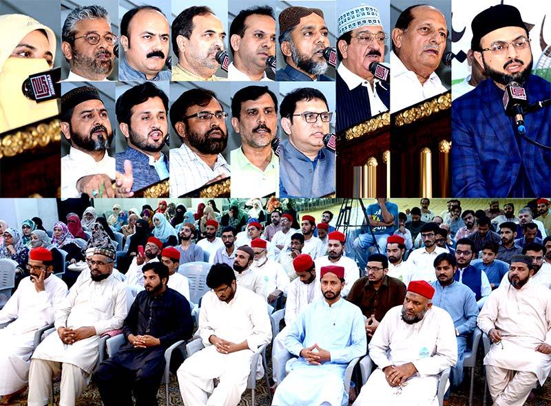 تحریک منہاج القرآن کے ڈائریکٹر فنانس عدنان جاوید مرحوم کی یاد میں تعزیتی ریفرنس