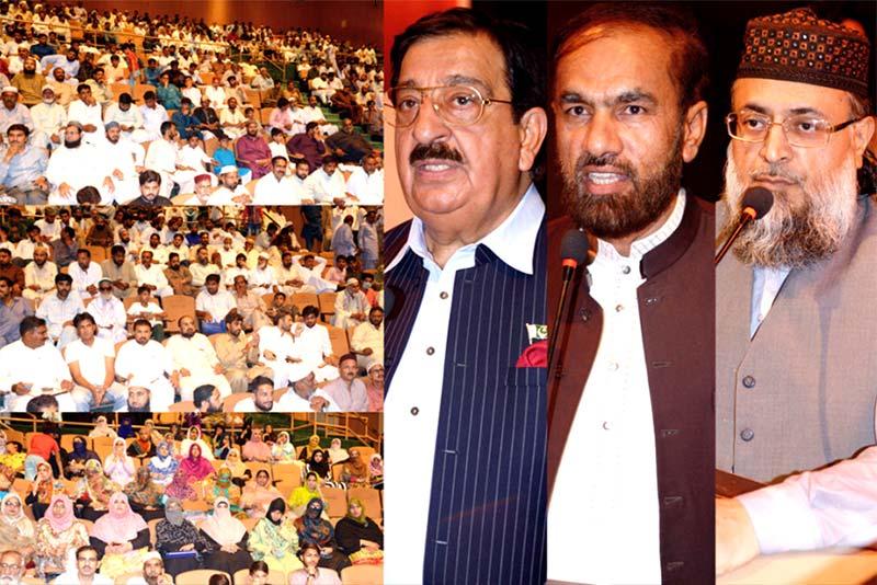 شہدائے ماڈل ٹاؤن کے انصاف کیلئے قانونی جنگ لڑرہے ہیں: خرم نواز گنڈاپور کا فیصل آباد میں ورکرز کنونشن سے خطاب