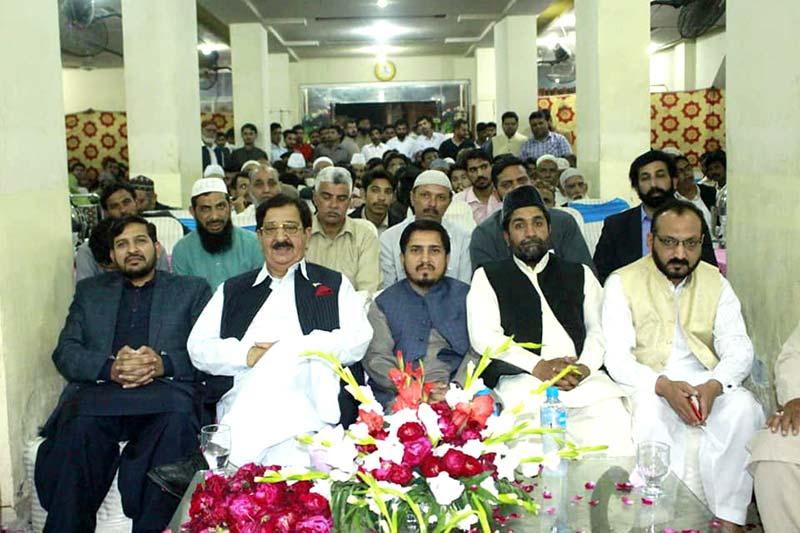منہاج القرآن لاہور پی پی 162 کے زیراہتمام قرآن کانفرنس میں یوتھ لیگ کے قائدین کی شرکت