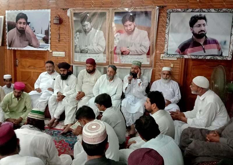 تحریک منہاج القرآن جھنگ کے زیراہتمام عدنان جاوید کے لیے دعائیہ تقریب