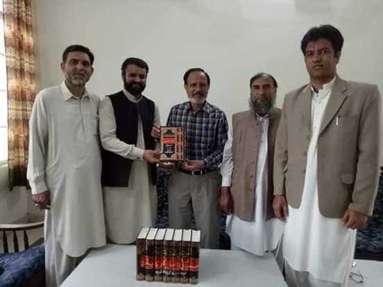منہاج یوتھ لیگ کے وفد کی جی ٹی روڈ کالج جہلم کے پرنسپل اور سٹاف سے ملاقات