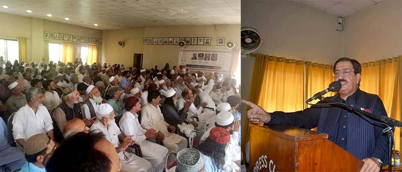 تحریک منہاج القرآن ایبٹ آباد کا ورکرز کنونشن، ناظم اعلیٰ خرم نواز گنڈاپور کی خصوصی شرکت