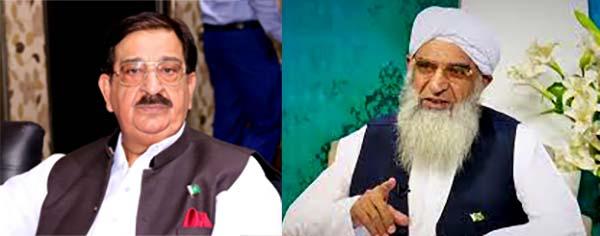 خرم نواز گنڈاپور کا علامہ منیر احمد یوسفی کے انتقال پر اظہار افسوس