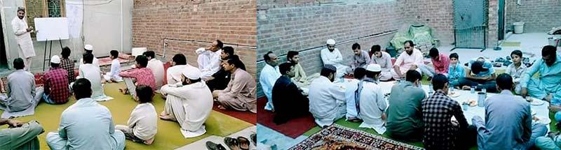 منہاج یوتھ لیگ فیصل آباد کے زیراہتمام ''آؤ دین سیکھیں'' نشست