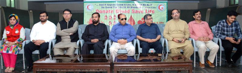 منہاج القرآن اور ہلال احمر پاکستان کے مشترکہ تعاون سے خصوصی تقریب