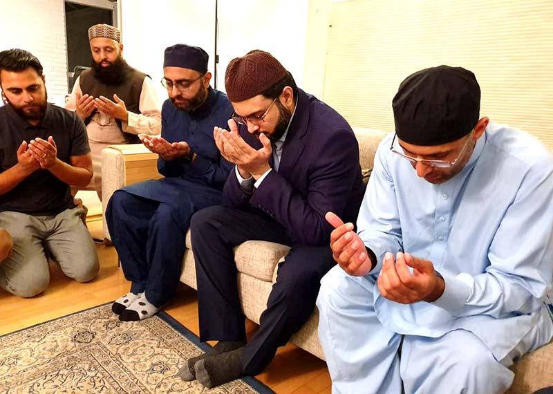 ڈاکٹر طاہرالقادری کا منہاج القرآن ڈنمارک کے صدر ڈاکٹر عرفان ظہور کے والد کے  انتقال پر اظہار تعزیت
