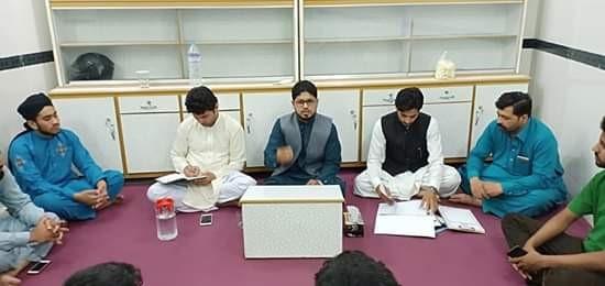 منہاج یوتھ لیگ ضلع شیخوپورہ کی ڈسٹرکٹ ایگزیکٹو کا اجلاس