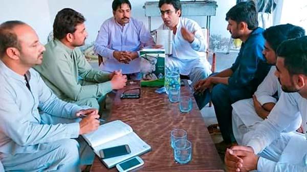 منہاج یوتھ لیگ منڈی بہاؤالدین کی ضلعی ایگزیکٹو کا اجلاس