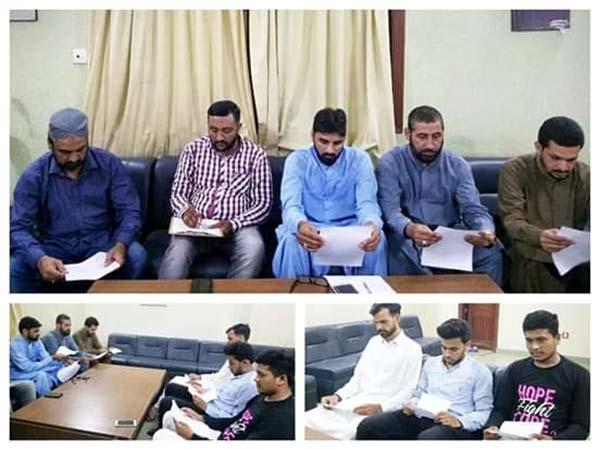 منہاج یوتھ لیگ کراچی کا ماہانہ تنظیمی اجلاس