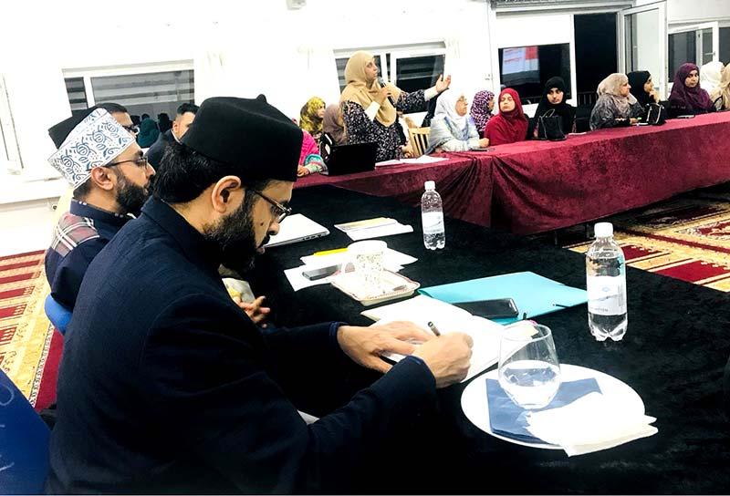 منہاج القرآن ڈنمارک کی تنظیمات کا ڈاکٹر حسن محی الدین قادری کیساتھ ایگزیکٹو سیشن