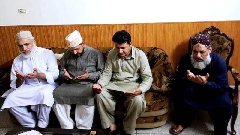 ناظم منہاج القرآن انٹرنیشنل ایسٹرن کیپ ساؤتھ افریقہ چوہدری اصغر وڑائچ سے تعزیت
