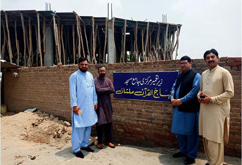 ملتان میں منہاج القرآن ایجوکیشنل کمپلیس کا قیام جنوبی پنجاب کیلئے عظیم علمی مرکز ثابت ہوگا: نوراللہ صدیقی