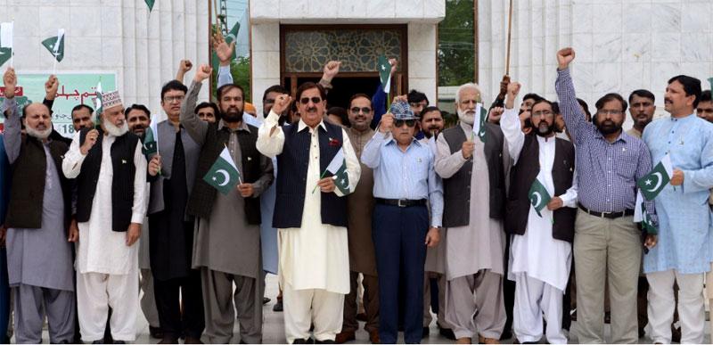 پاکستان کا مستقبل کرپشن اور کرپٹ عناصر کے مکمل خاتمے کے ساتھ جڑا ہوا ہے: خرم نواز گنڈاپور