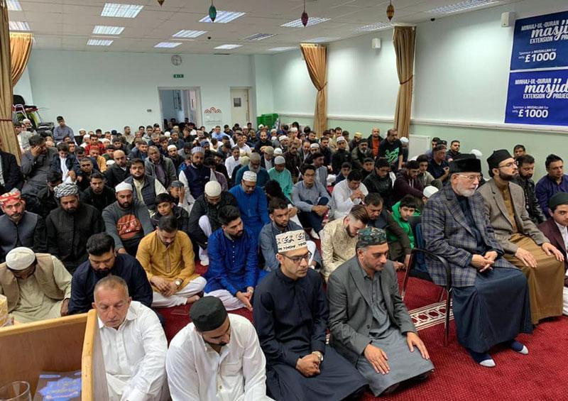منہاج القرآن کے تحت یورپ کے شہر شہر نماز عیدالاضحی کے عظیم اجتماعات