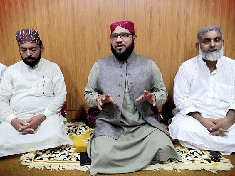 لودھراں: تحریک منہاج القرآن کے زیراہتمام ماہانہ شبِ بیداری کا اہتمام