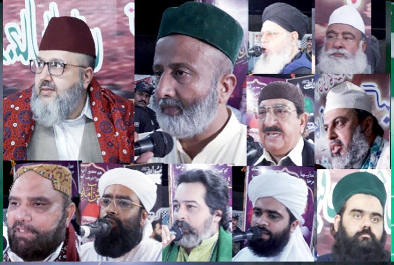خیرپور: ناظم اعلیٰ منہاج القرآن کی غوث الاعظم کانفرنس کھوڑا شریف میں شرکت